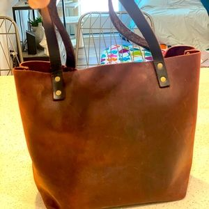 Portland Leather Goods tote